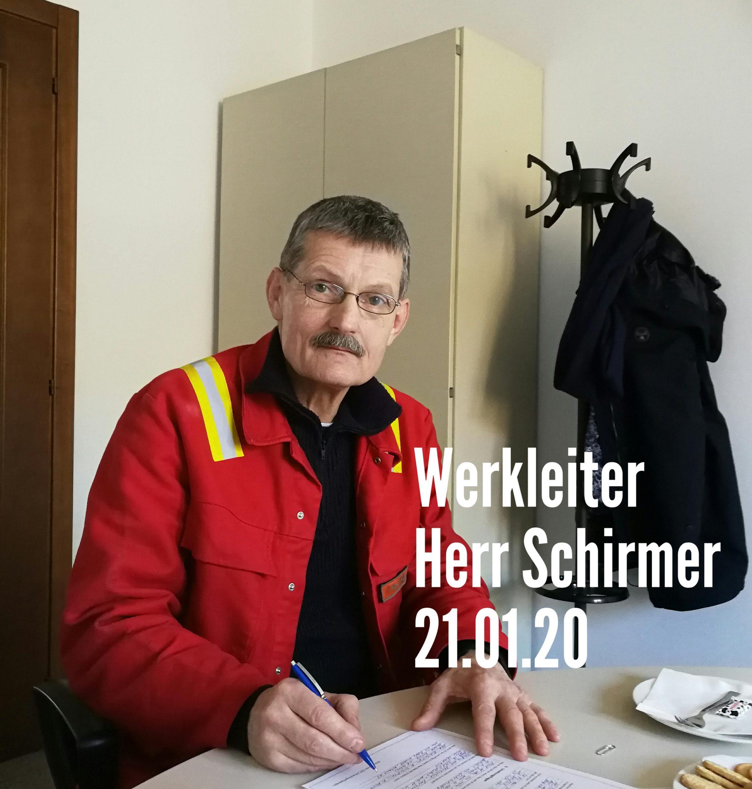 B. Schirmer Werkleiter